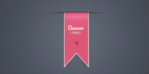 30 FREE Stylish and Decorative Ribbons, Stickers and Badges PSD for