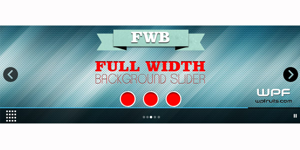 Full Background Slider