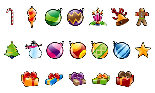 Christmas Icons from LeoHutter