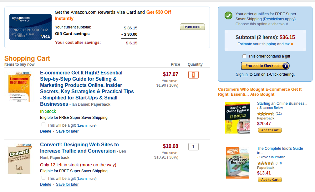 Essential Elements of a High-Performance Online Shopping Cart