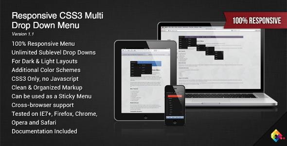 drop down menus html