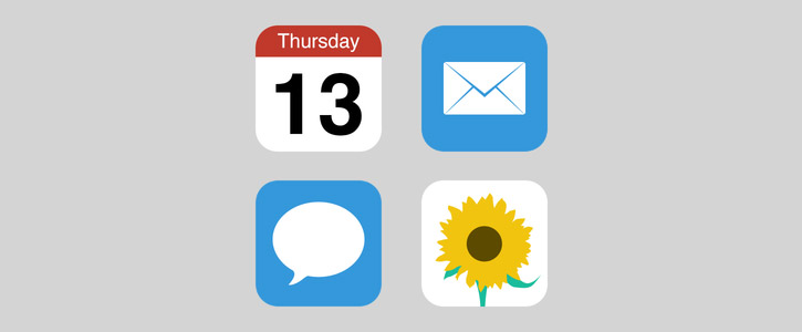 Flat iOS Icons by Matan Mousseri