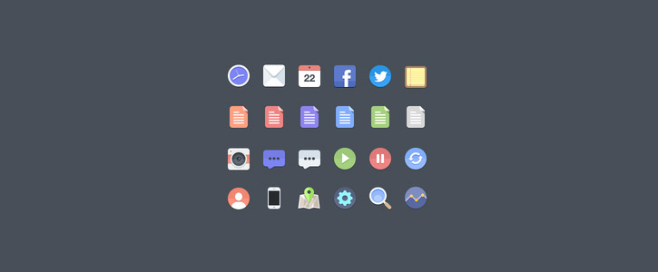 Free Flat Icons by Jan Dvořák
