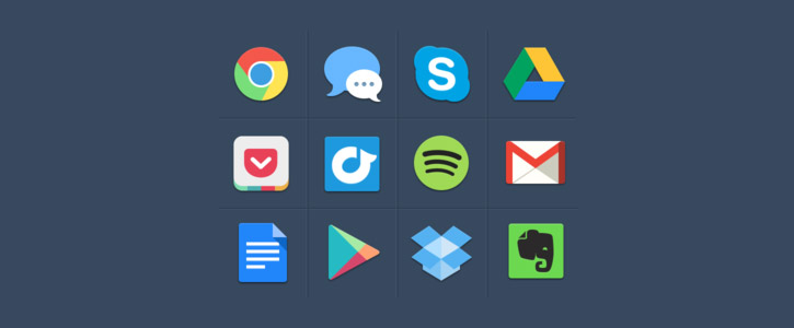 Free Colorful Icons by Michael Dolejš