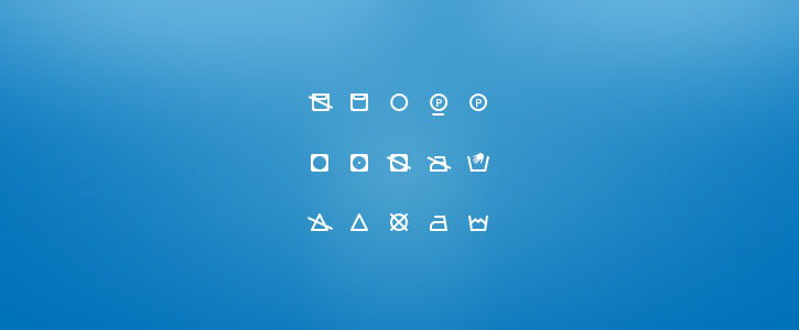 Washing Icons by Dominik Rezek
