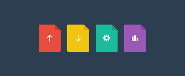 Flat File Icons by PremiumPixels