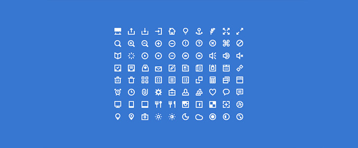 80 Mini Icons by PremiumPixels