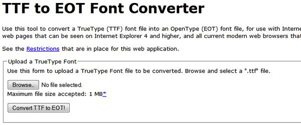 19 Most Useful @Font-Face Generators for Converting Fonts to Web