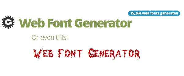 19 Most Useful Font Face Generators For Converting Fonts To Web Safe