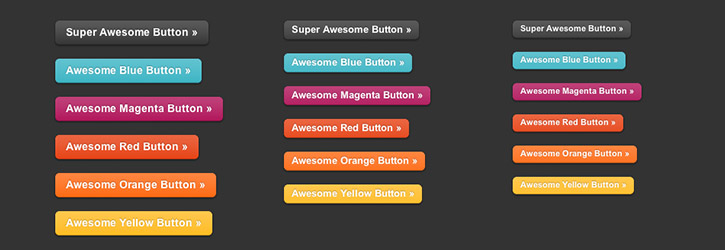 Zurb Super Awesome Buttons
