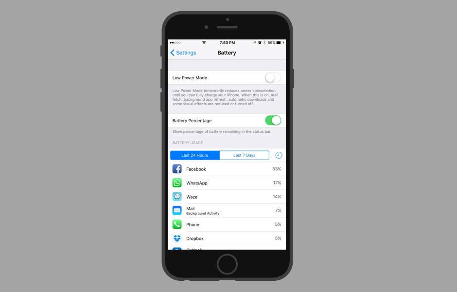 iOS TIps and Tricks - >Make your phone last longer with Low Power Mode