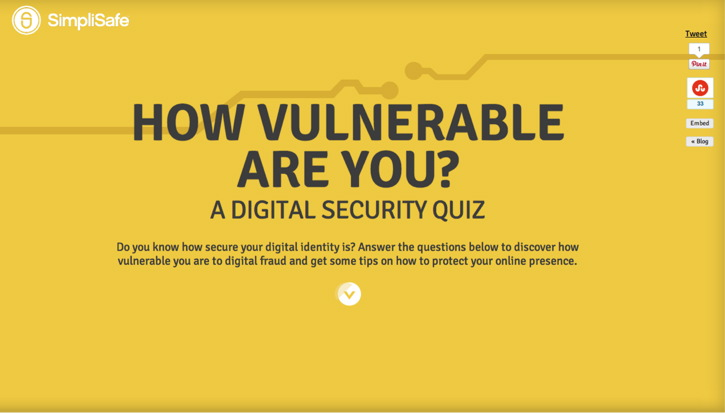 SimpliSafe's Digital Security Quiz