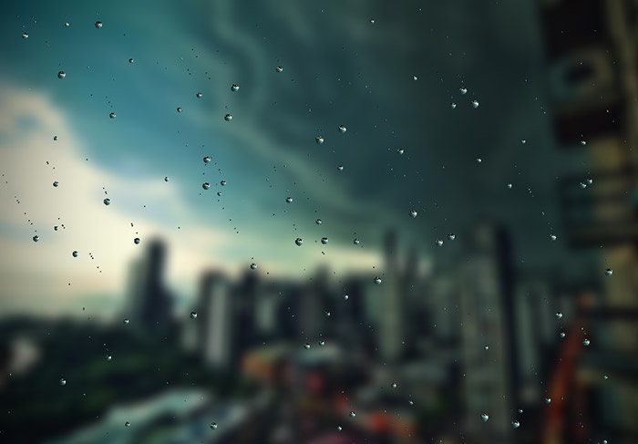 Create Ultra Realistic Rain Drops With Rainyday Js
