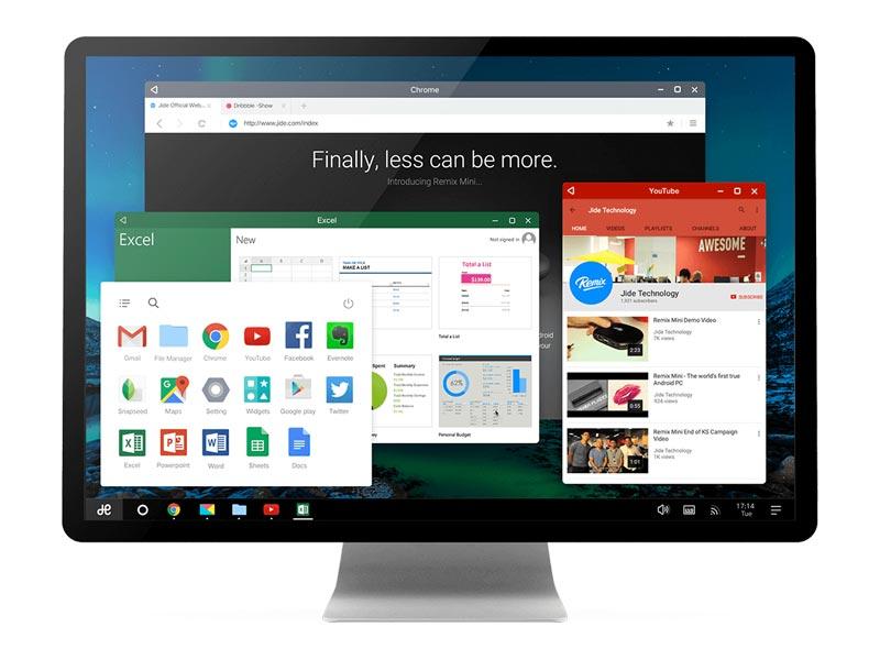 RemixOS - Multi Windows