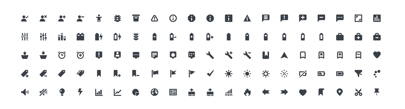 Squid Ink Mini Icon - Actions
