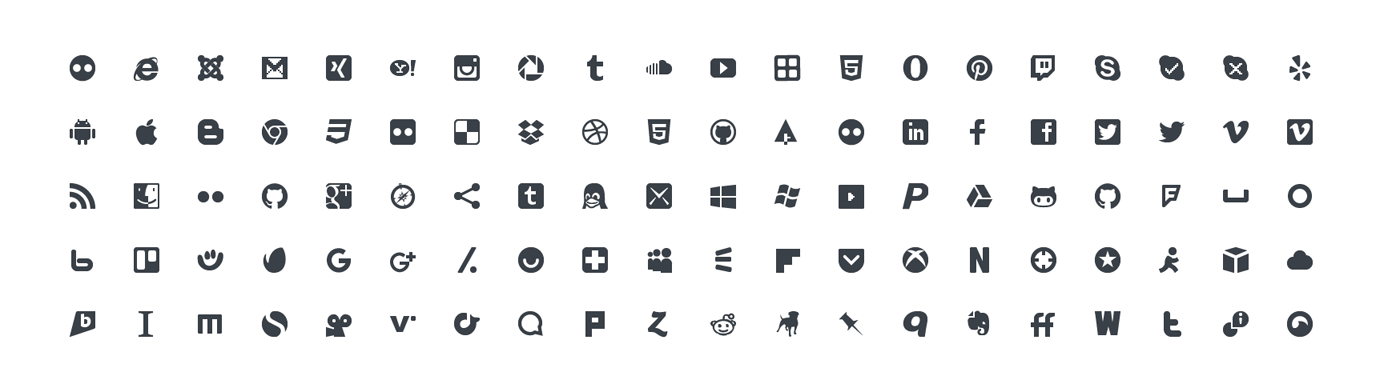 Squid Ink Mini Icon - Social Media