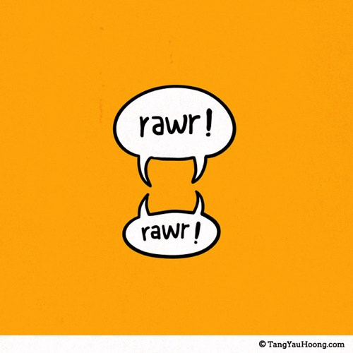 Talk Illustration - Rawr!