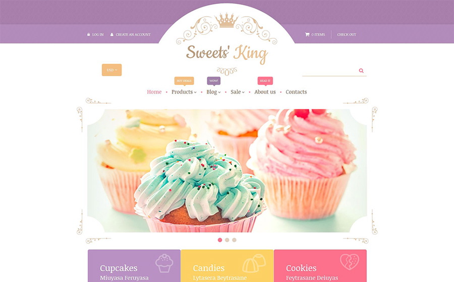 Confectionery Shopify Theme
