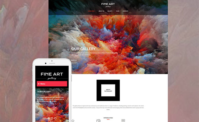 Art Gallery Responsive WordPress Theme