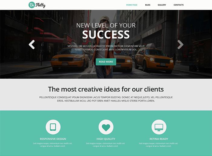 Creative Project WordPress Theme