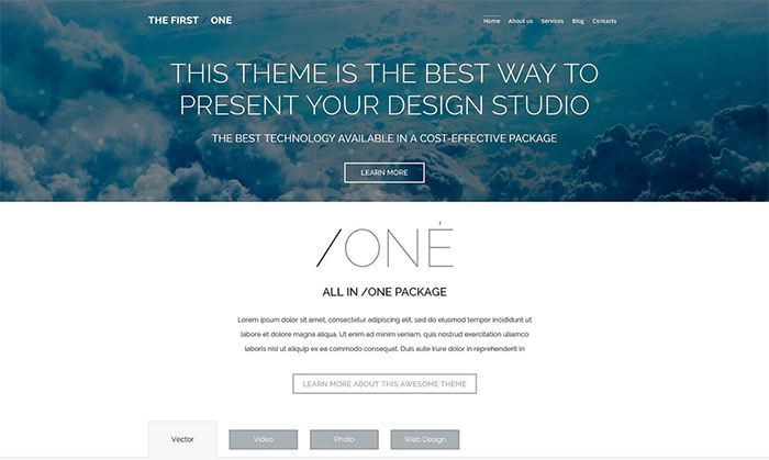 Design Studio Responsive WordPress Theme