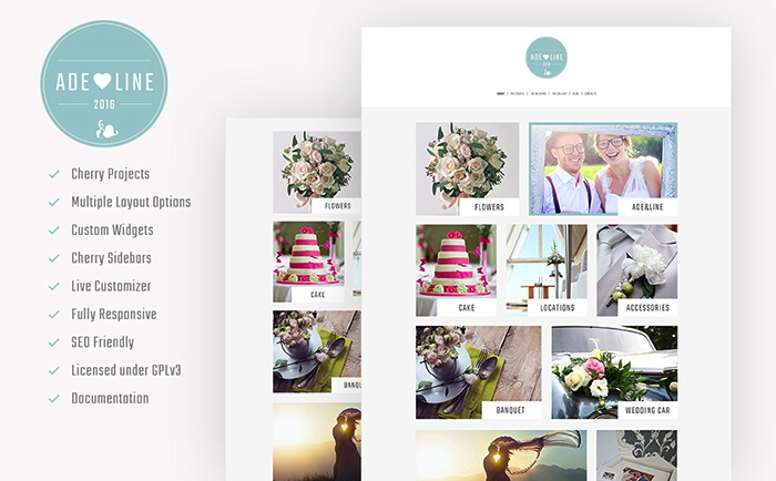 Wedding Accessories WordPress Theme